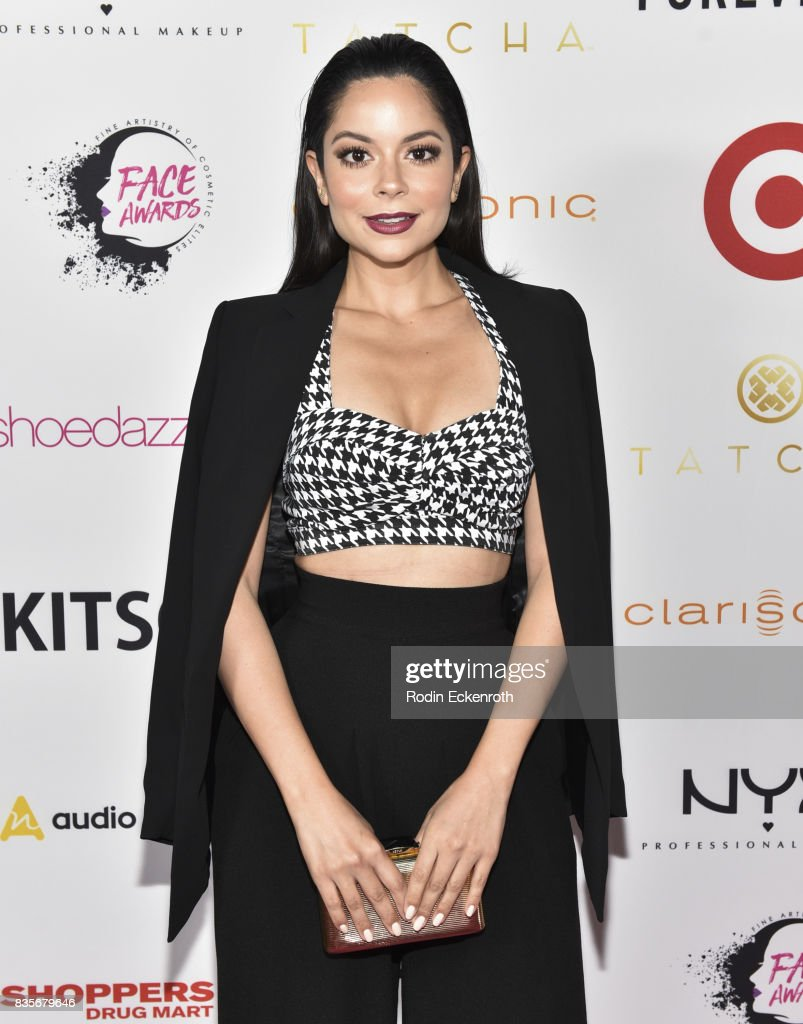 Melissa Carcache attends NYX Professional Makeup's 6th Annual FACE Awards at The Shrine Auditorium on August 19, 2017 in Los Angeles, California.