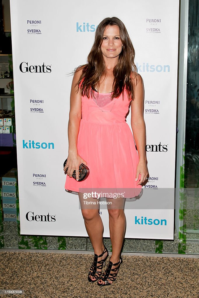 <a gi-track='captionPersonalityLinkClicked' href=/galleries/search?phrase=Melissa+Claire+Egan&family=editorial&specificpeople=4164662 ng-click='$event.stopPropagation()'>Melissa Claire Egan</a> attends the Gents at Kitson launch event at Kitson on Roberston on July 11, 2013 in Beverly Hills, California.