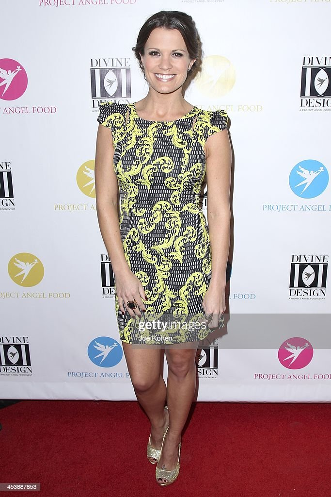 Melissa Claire Egan attends the Opening Night Party For Divine Design 2013 on December 5, 2013 in Beverly Hills, California.