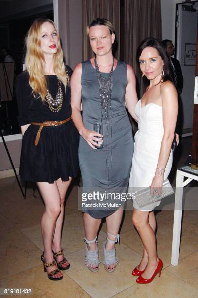 Melissa Coker Corinna Springer and Jessica Trent attend The First Annual Benefit Hosted By Los Angeles Nomadic Division at the Sunset Tower Hotel on...