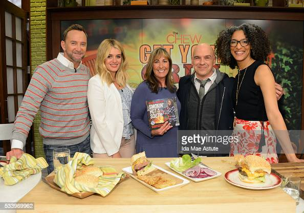THE CHEW Melissa Cookson is at the grill on the delicious talk show THE CHEW airing MONDAY MAY 23 on the ABC Television Network CLINTON