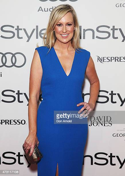 Melissa Doyle arrives at the 2015 Women Of Style Awards at Carriageworks on May 13 2015 in Sydney Australia