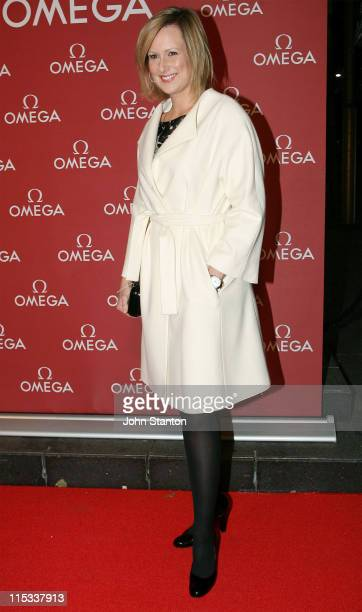 Melissa Doyle during Cindy Crawford for the Opening of the OMEGA Boutique in Sydney at Martin Place in Sydney New South Wales Australia