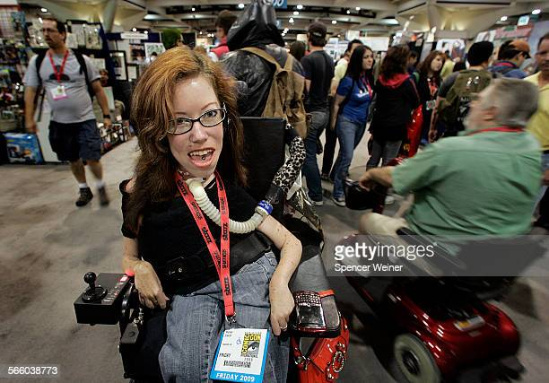 Melissa Eckardt doing some shopping along with thousand of others gathered at Comic–Con International 2009 in San Diego Friday July 24 2009 Melissa...