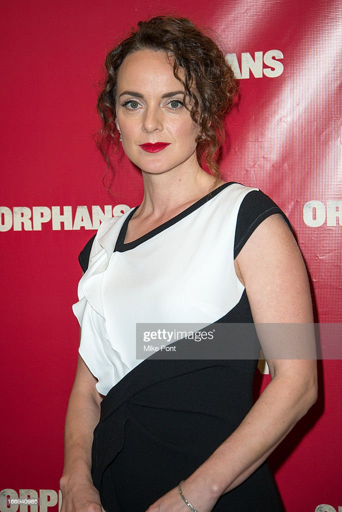 Melissa Errico attends the 'Orphans' Broadway opening night at the Gerald Schoenfeld Theatre on April 18, 2013 in New York City.