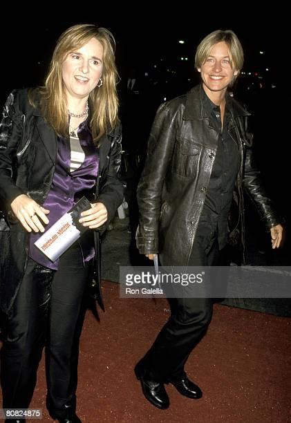 Melissa Etheridge and Ellen DeGeneres