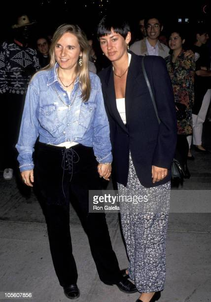 Melissa Etheridge and Julie Cypher during 'Twenty Bucks' Los Angeles Premiere at Mann's Criterion Theater in Santa Monica California United States