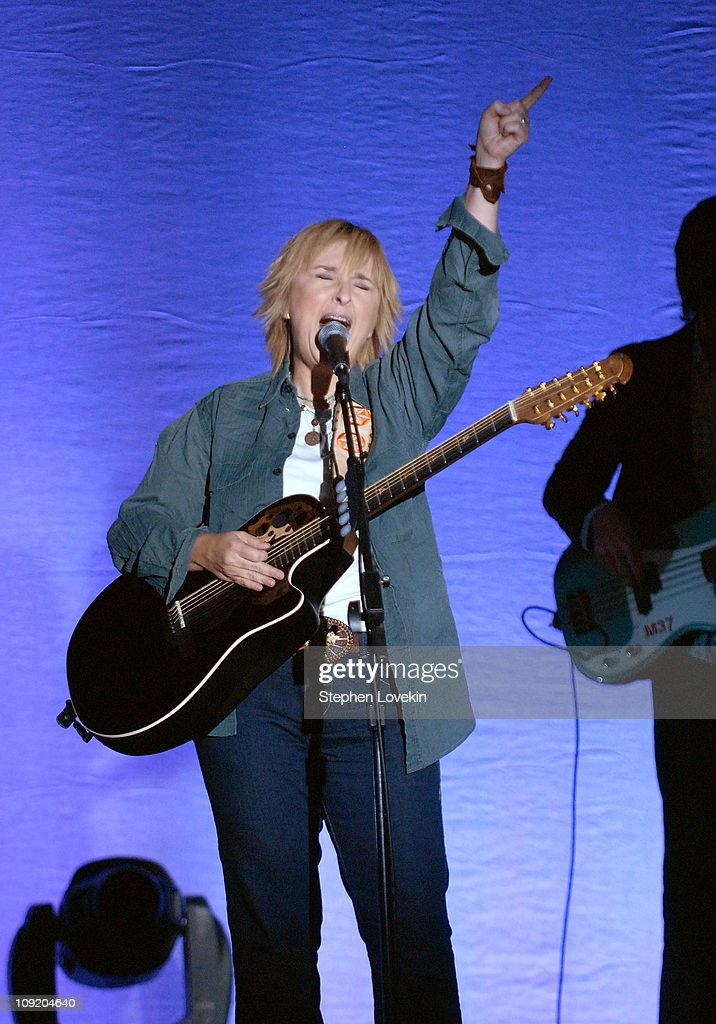 Melissa Etheridge performs 'Livin' On A Prayer' and Wanted Dead or Alive' during the Recording Academy New York Chapter's Tribute to Bon Jovi Alicia...
