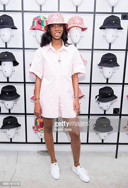 Melissa Forde attends the Opening Ceremony 'M$$ X WT' launch event at Opening Ceremony on March 30 2015 in New York City