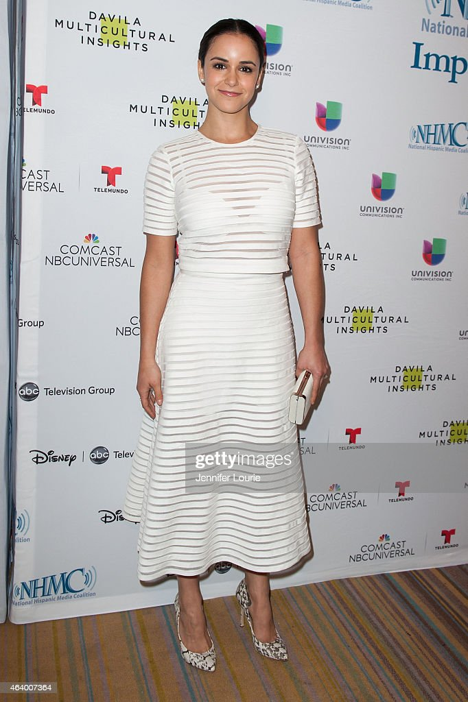 <a gi-track='captionPersonalityLinkClicked' href=/galleries/search?phrase=Melissa+Fumero&family=editorial&specificpeople=5616782 ng-click='$event.stopPropagation()'>Melissa Fumero</a> arrives at the 18th Annual NHMC Impact Awards Gala at the Regent Beverly Wilshire Hotel on February 20, 2015 in Beverly Hills, California.