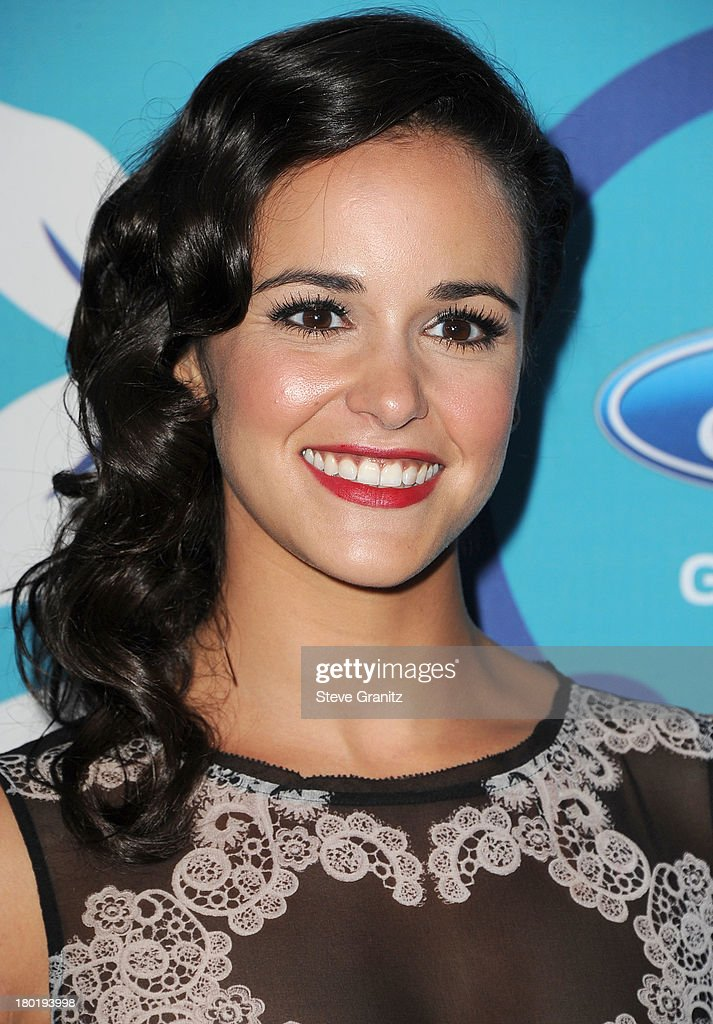 Melissa Fumero arrives at the 2013 Fox Fall Eco-Casino Party at The Bungalow on September 9, 2013 in Santa Monica, California.