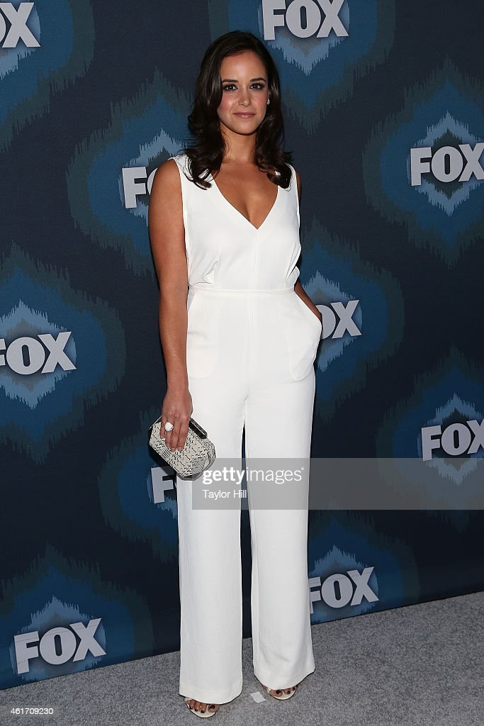 Melissa Fumero attends the 2015 Fox AllStar Party at Langham Hotel on January 17 2015 in Pasadena California