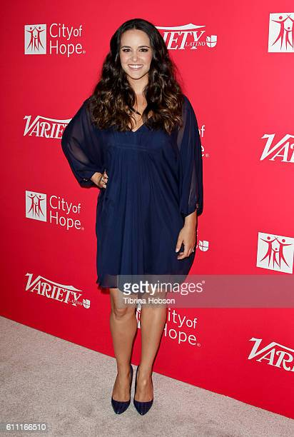 Melissa Fumero attends Variety's 10 Latinos To Watch Event at The London West Hollywood on September 28 2016 in West Hollywood California