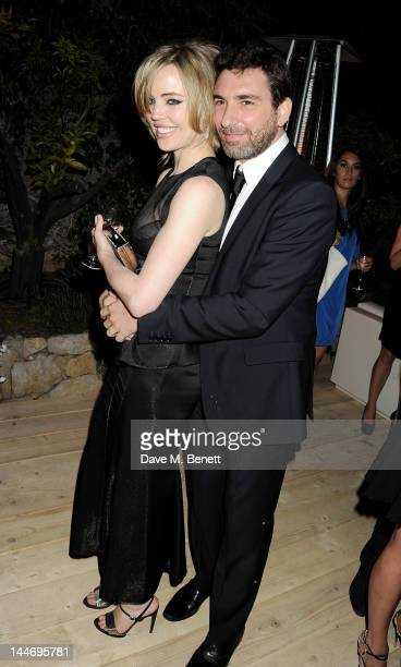 Melissa George and JeanDavid Blanc attend as The IFP Calvin Klein Collection euphoria Calvin Klein celebrate Women In Film during the 65th Cannes...