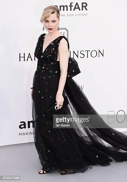 Melissa George attends amfAR's 22nd Cinema Against AIDS Gala Presented By Bold Films And Harry Winston at Hotel du CapEdenRoc on May 21 2015 in Cap...