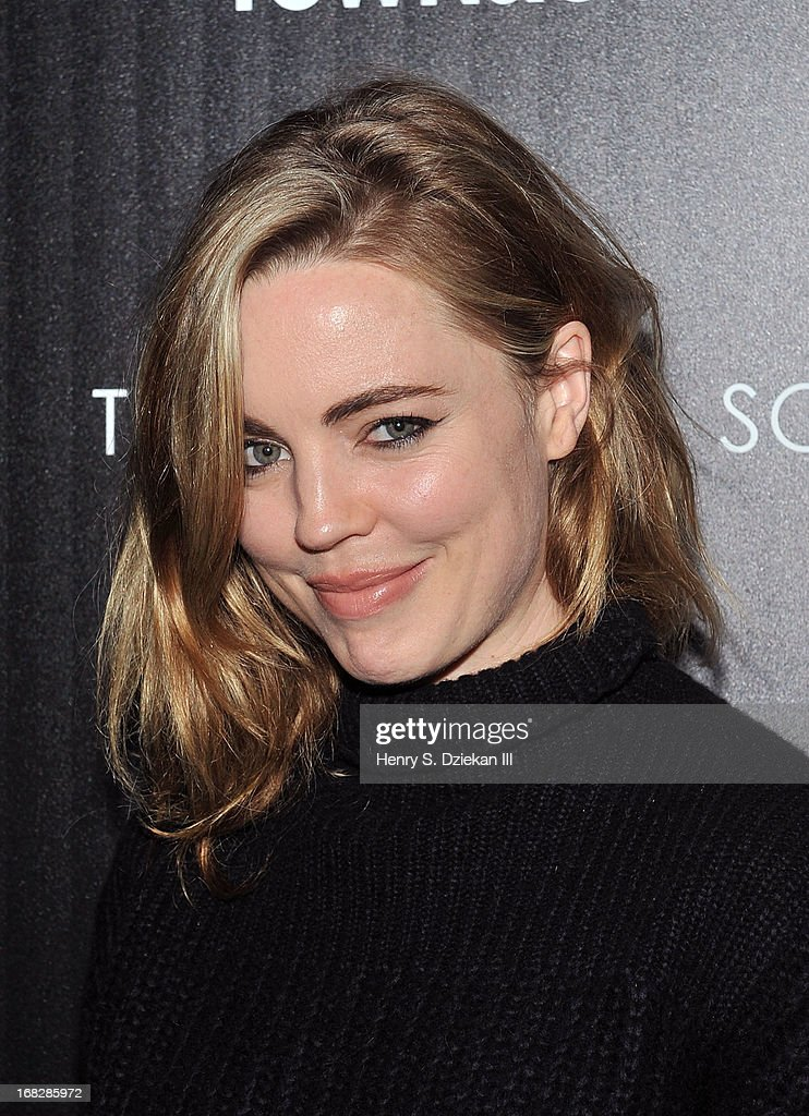 Melissa George attends the Brooks Brothers and Town & Country with The Cinema Society screening of 'The Great Gatsby' at HBO Screening Room on May 7, 2013 in New York City.