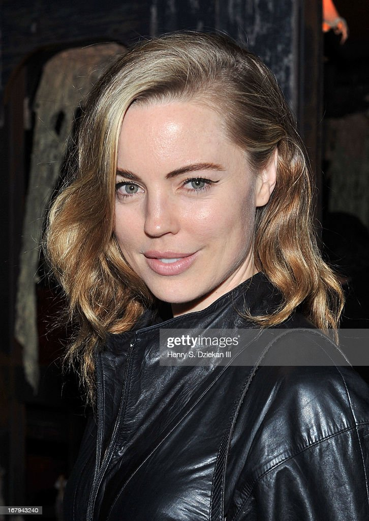 <a gi-track='captionPersonalityLinkClicked' href=/galleries/search?phrase=Melissa+George&family=editorial&specificpeople=201840 ng-click='$event.stopPropagation()'>Melissa George</a> attends The Cinema Society With Tod's & GQ screening of Millennium Entertainment's 'What Maisie Knew' after party at Gallow Green at the McKittrick Hotel on May 2, 2013 in New York City.