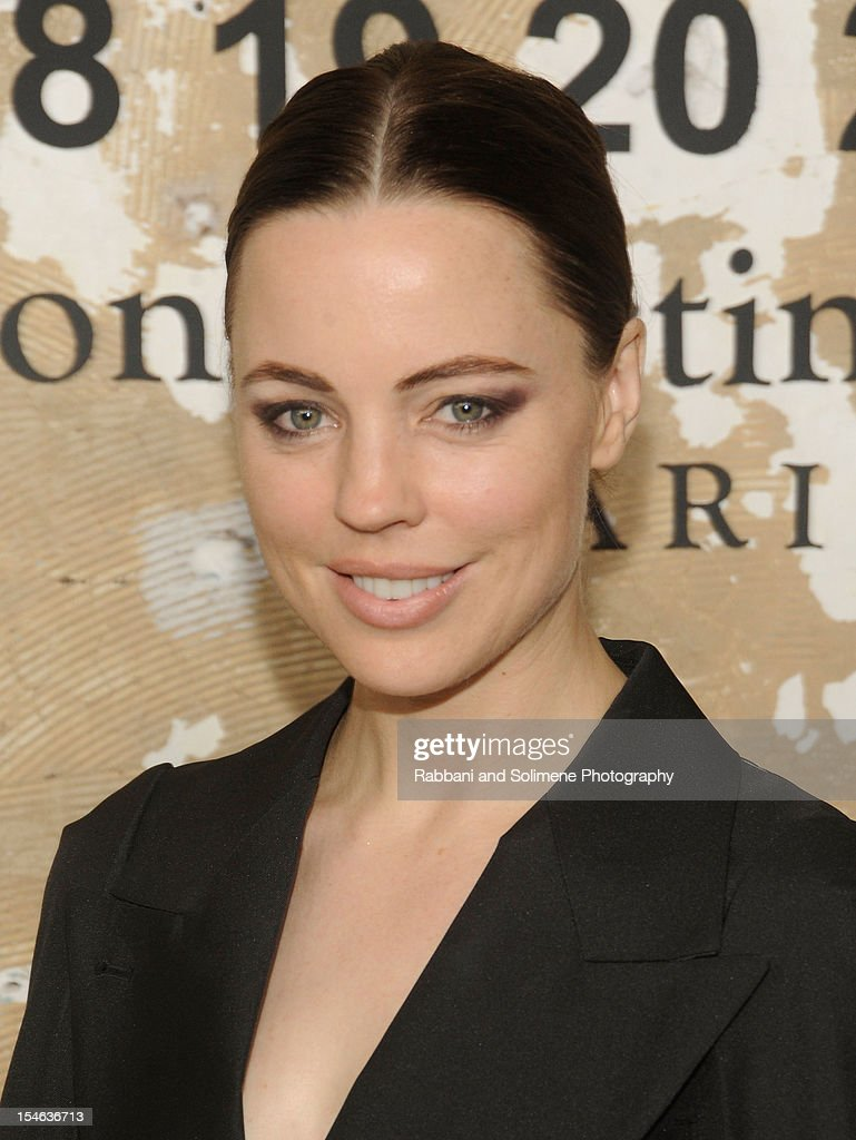 Melissa George attends the Maison Martin Margiela with H&M global launch event at 5 Beekman on October 23, 2012 in New York City.