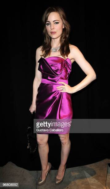Melissa George attends the Marchesa FW2010 Presentation at Chelsea Art Museum on February 17 2010 in New York City