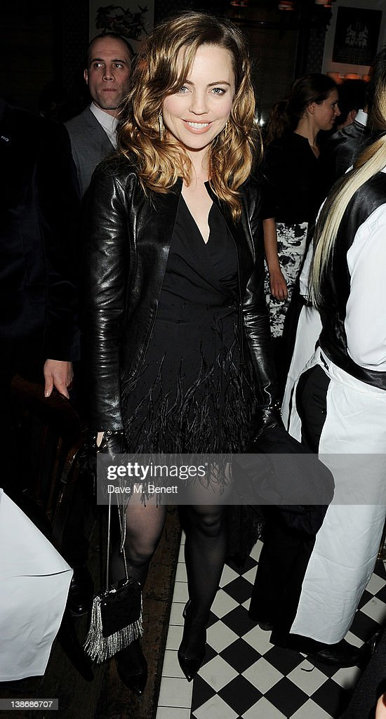 <a gi-track='captionPersonalityLinkClicked' href=/galleries/search?phrase=Melissa+George&family=editorial&specificpeople=201840 ng-click='$event.stopPropagation()'>Melissa George</a> attends The Weinstein Company Dinner Hosted By Grey Goose in celebration of BAFTA at Dean Street Townhouse on February 10, 2012 in London, England.