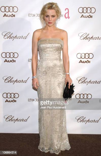 Melissa George during 14th Annual Elton John AIDS Foundation Oscar Party Cohosted by Audi Chopard and VH1 Arrivals at Pacific Design Center in...