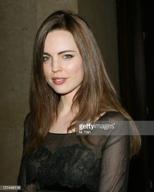 Melissa George during Juvenile Diabetes Research Foundation Annual Gala Honoring Warren Beatty Annette Bening and George Schlatter at Beverly Hilton...