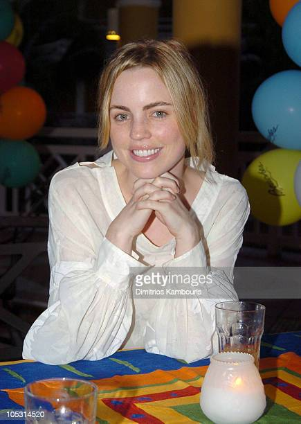 Melissa George during Sehorn's Corner Mother's Day Weekend Day 1 at Beaches Boscobel Resort and Golf Club in Ocho Rios Jamaica