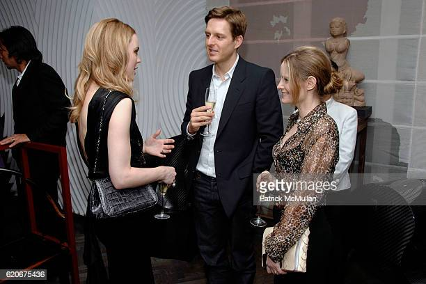 Melissa George Greg Clark and Jennifer Jason Leigh attend FERRAGAMO 80th Anniversary Private Dinner hosted by PEARL LAM at The home of Pearl Lam on...