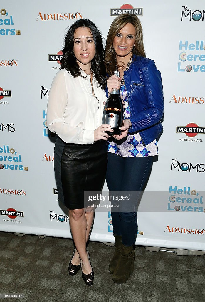 Melissa Gerstein and Denise Albertattend The MOMS Celebrate the Release Of 'Admission' at Disney Screening Room on March 5, 2013 in New York City.