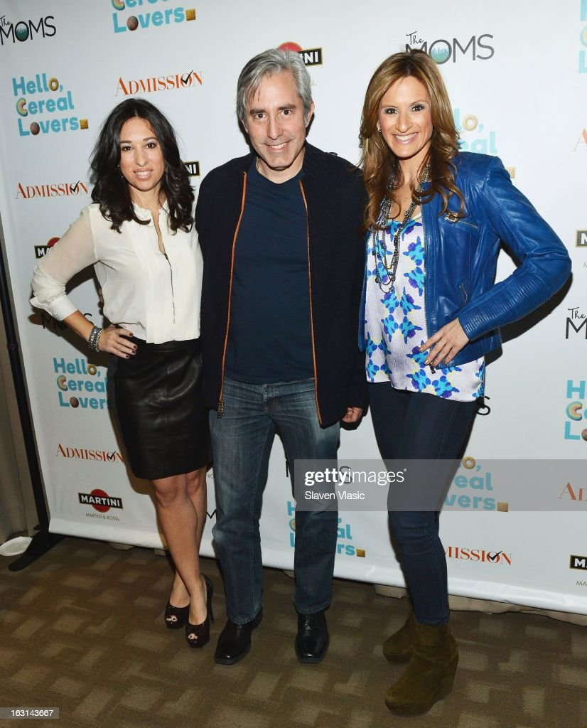 Melissa Gerstein, director Paul Weitz and Denise Albert attend The MOMS Celebrate the Release Of 'Admission' at Disney Screening Room on March 5, 2013 in New York City.