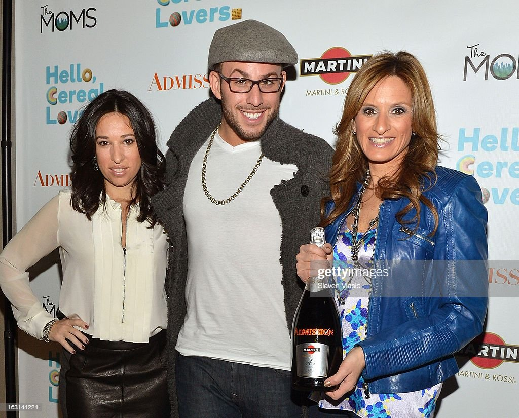 Melissa Gerstein, Micah Jesse and Denise Albert attend The MOMS Celebrate the Release Of 'Admission' at Disney Screening Room on March 5, 2013 in New York City.