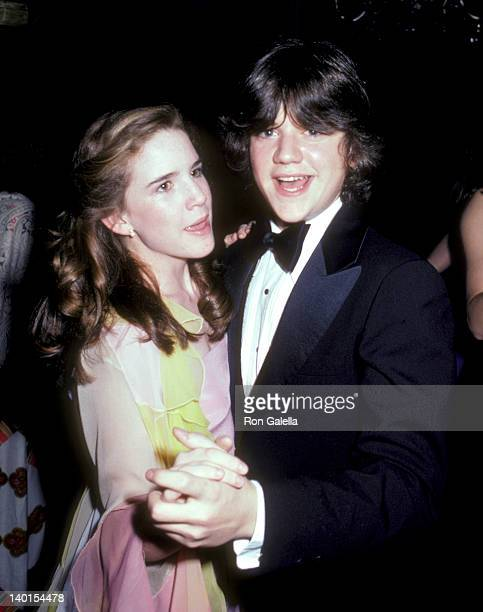 Melissa Gilbert and Jimmy Baio at the The Love Boat Honors Helen Hayes Beverly Hills Hotel Beverly Hills
