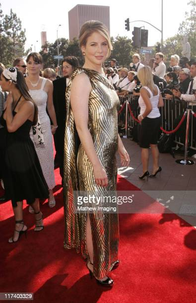 Melissa Gilbert during 58th Annual Creative Arts Emmy Awards Arrivals at The Shrine Auditorium in Los Angeles California United States