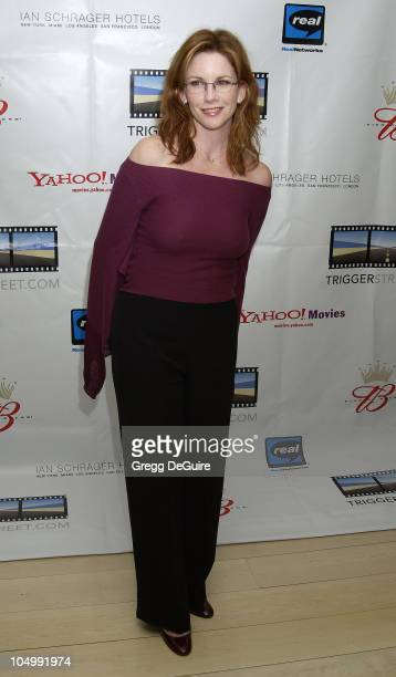 Melissa Gilbert during Kevin Spacey's TriggerStreetcom Launches New Content Showcase at Las Vegas Convention Center in Las Vegas Nevada United States