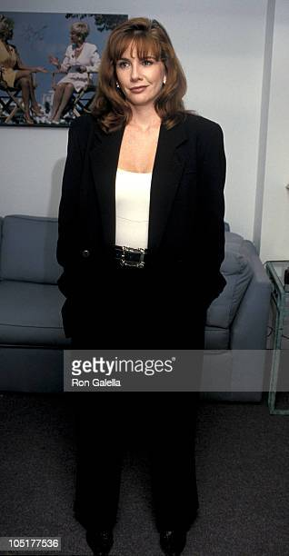 Melissa Gilbert during Melissa Gilbert at a Taping of 'The Sally Jessy Raphael Show' at Unitel Studios in New York City NY United States