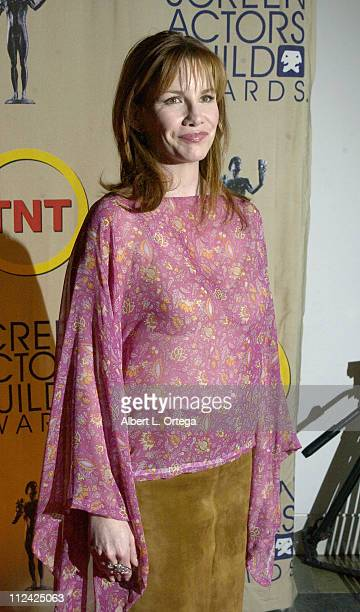 Melissa Gilbert during Ninth Annual Screen Actors Guild Awards Nominations Press Conference at Skirball Cultural Center in Los Angeles California...
