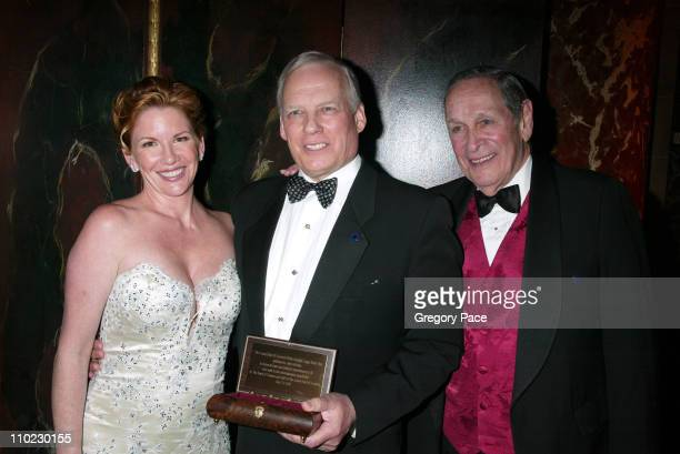 Melissa Gilbert John McGuire and Larry Keith during The Actors Fund 'There's No Business Like Show Business' Gala at Cipriani 42nd Street in New York...