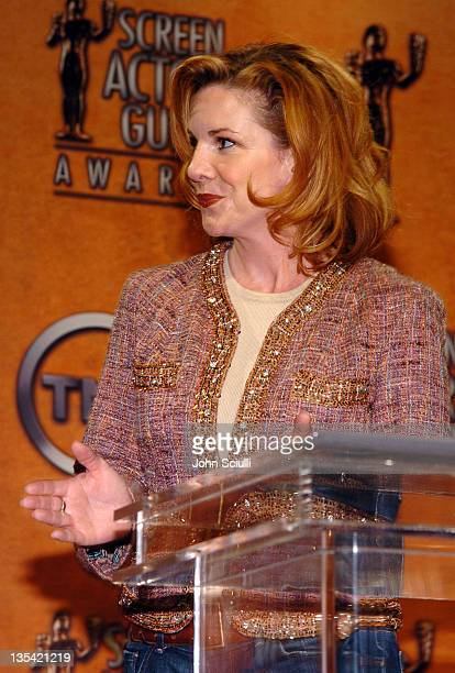 Melissa Gilbert president SAG during 11th Annual Screen Actors Guild Awards Nominations Announcement at Pacific Design Center in Hollywood California...