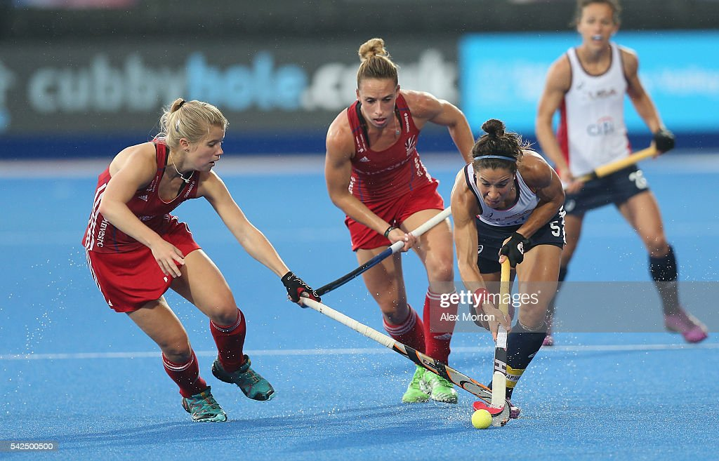 Melissa Gonzalez Of USA During The FIH Womens Hockey Champions Trophy Match Between Great Britain And