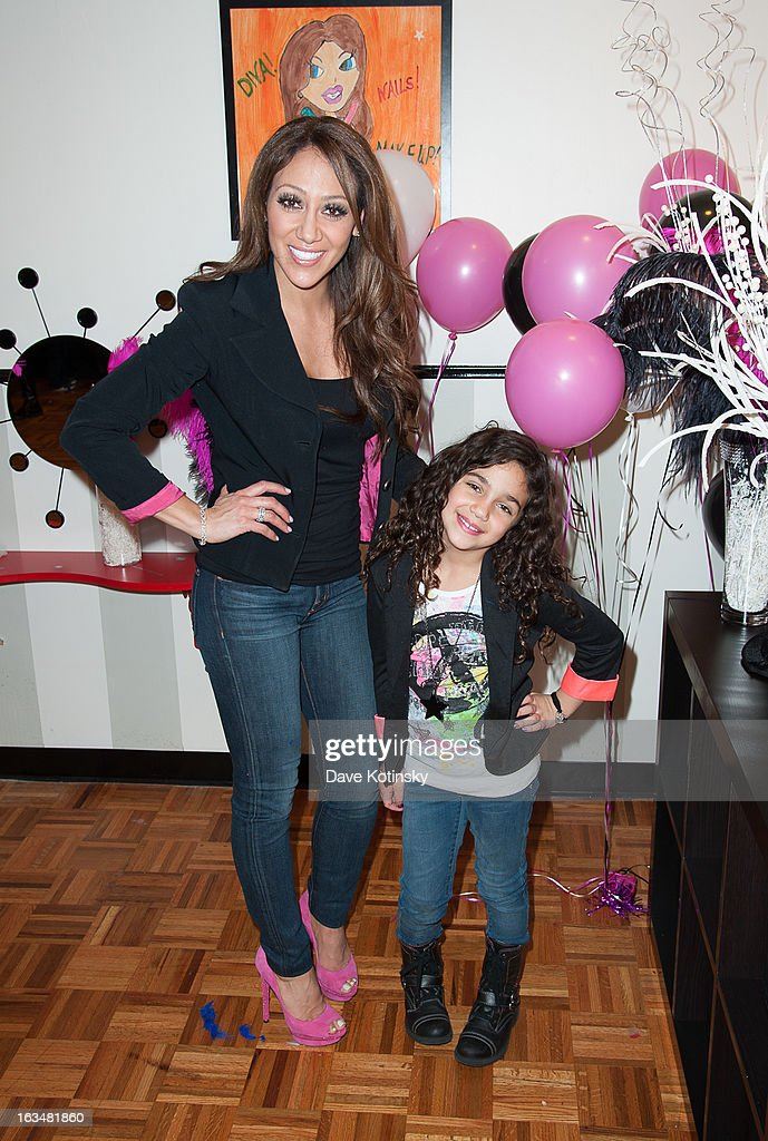 <a gi-track='captionPersonalityLinkClicked' href=/galleries/search?phrase=Melissa+Gorga&family=editorial&specificpeople=7306775 ng-click='$event.stopPropagation()'>Melissa Gorga</a> and Antonia Gorga attend Milania Giudice's 7th Birthday Celebration at Just Kidding on March 10, 2013 in Wayne, New Jersey.