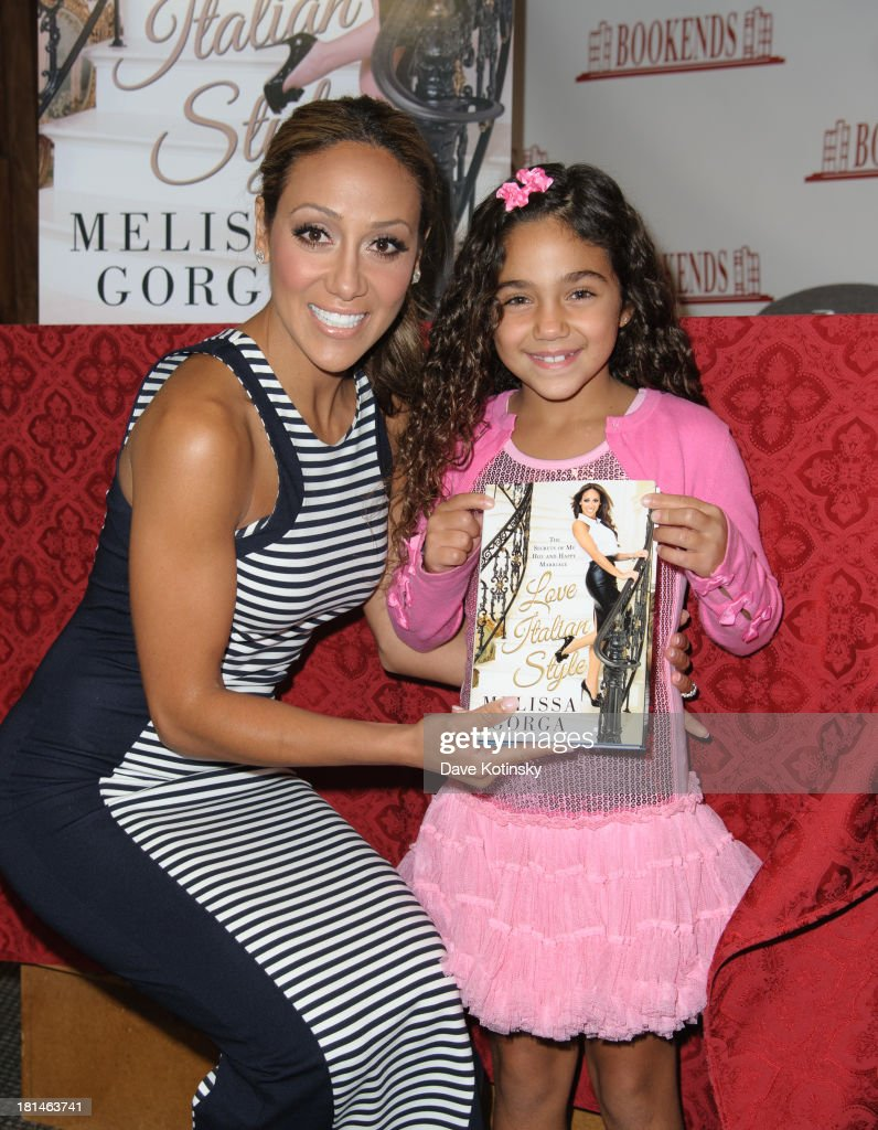 Melissa Gorga and Antonia Gorga attends the 'Love Italian Style The Secrets of My Hot and Happy Marriage' book signing at Bookends on September 21...