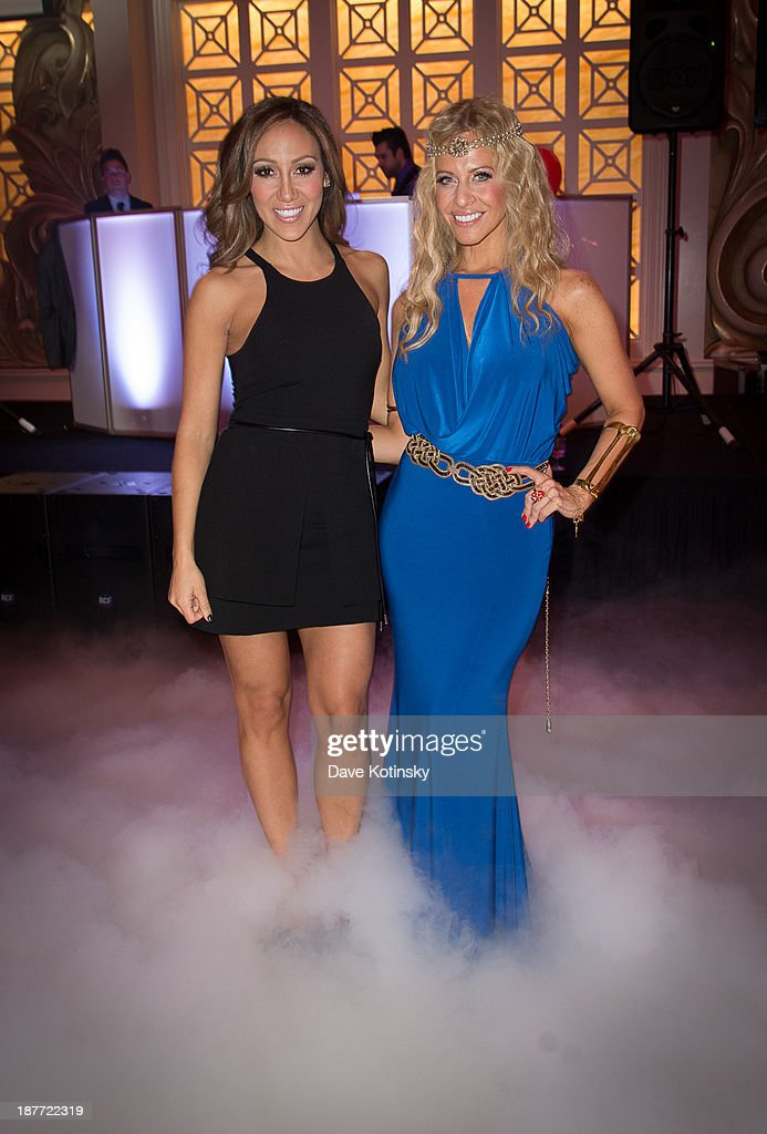 <a gi-track='captionPersonalityLinkClicked' href=/galleries/search?phrase=Melissa+Gorga&family=editorial&specificpeople=7306775 ng-click='$event.stopPropagation()'>Melissa Gorga</a> and <a gi-track='captionPersonalityLinkClicked' href=/galleries/search?phrase=Dina+Manzo&family=editorial&specificpeople=5841104 ng-click='$event.stopPropagation()'>Dina Manzo</a> attend the 'Goddess Night Out' event benefiting Project Lady Bug hosted by <a gi-track='captionPersonalityLinkClicked' href=/galleries/search?phrase=Dina+Manzo&family=editorial&specificpeople=5841104 ng-click='$event.stopPropagation()'>Dina Manzo</a>>> on November 11, 2013 in Garfield, New Jersey.