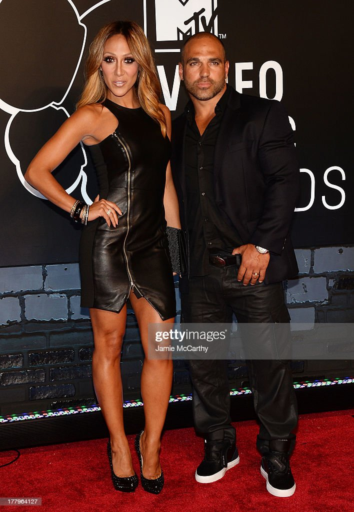 <a gi-track='captionPersonalityLinkClicked' href=/galleries/search?phrase=Melissa+Gorga&family=editorial&specificpeople=7306775 ng-click='$event.stopPropagation()'>Melissa Gorga</a> (L) and Joe Gorga attend the 2013 MTV Video Music Awards at the Barclays Center on August 25, 2013 in the Brooklyn borough of New York City.