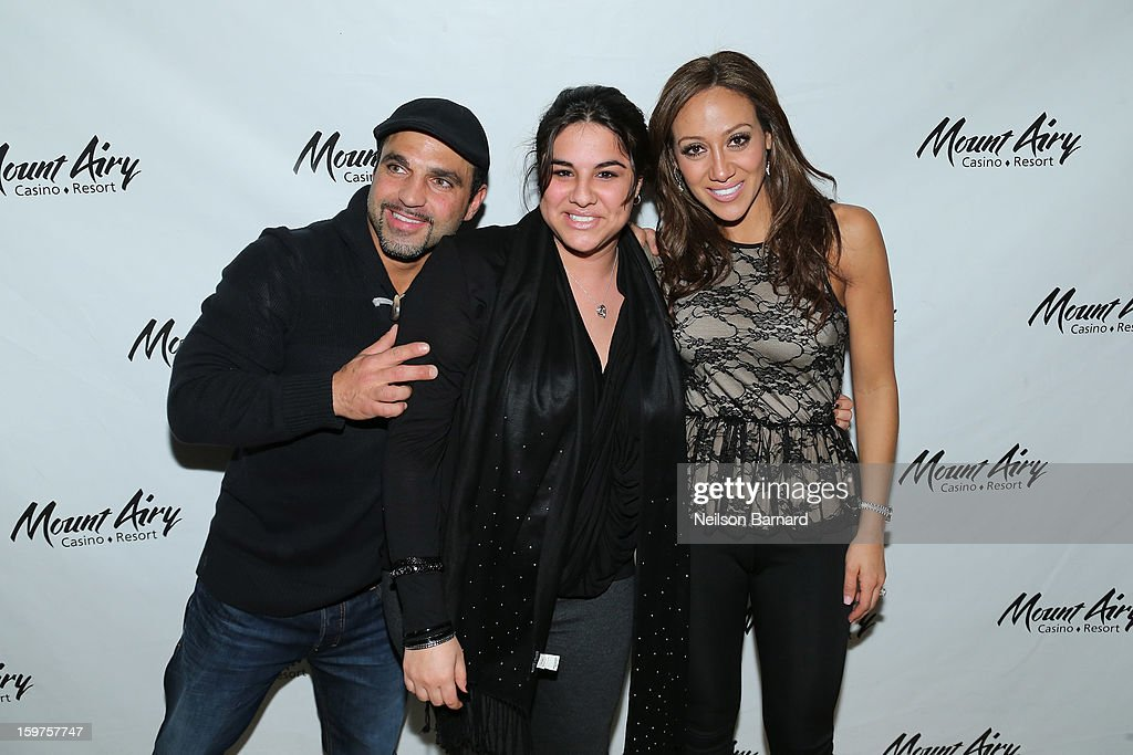 Melissa Gorga and Joe Gorga guest host at Gypsies Lounge in Mount Airy Casino Resort on January 19, 2013 in Mount Pocono, Pennsylvania.