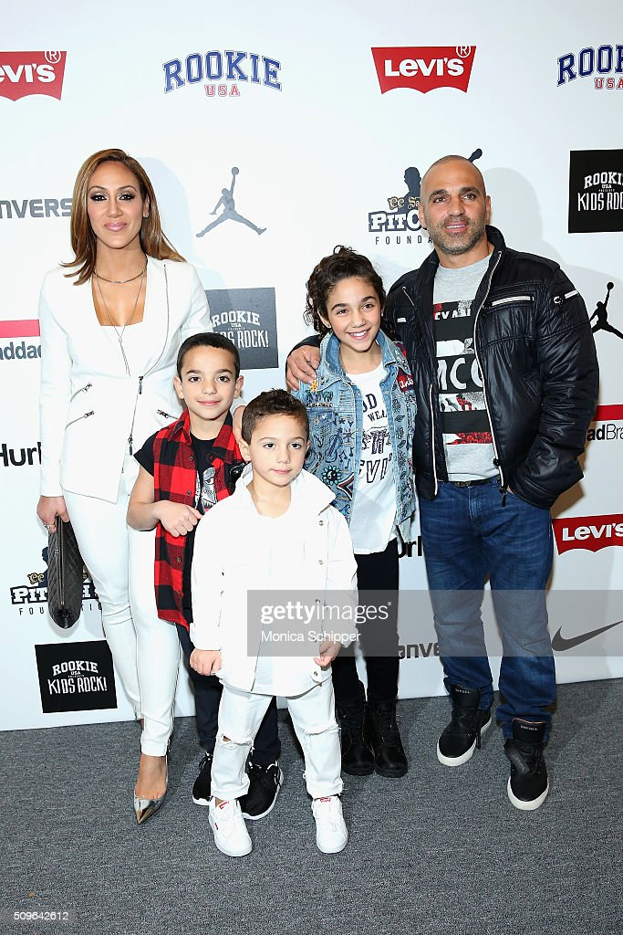 <a gi-track='captionPersonalityLinkClicked' href=/galleries/search?phrase=Melissa+Gorga&family=editorial&specificpeople=7306775 ng-click='$event.stopPropagation()'>Melissa Gorga</a> and <a gi-track='captionPersonalityLinkClicked' href=/galleries/search?phrase=Joe+Gorga+-+Reality+TV+Personality&family=editorial&specificpeople=11336747 ng-click='$event.stopPropagation()'>Joe Gorga</a> pose backstage at the Rookie USA Presents Kids Rock! Fall 2016 fashion show during New York Fashion Week: The Shows at The Dock, Skylight at Moynihan Station on February 11, 2016 in New York City.