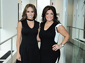 Melissa Gorga and Kathy Wakile visit the SiriusXM Studios on May 29 2013 in New York City