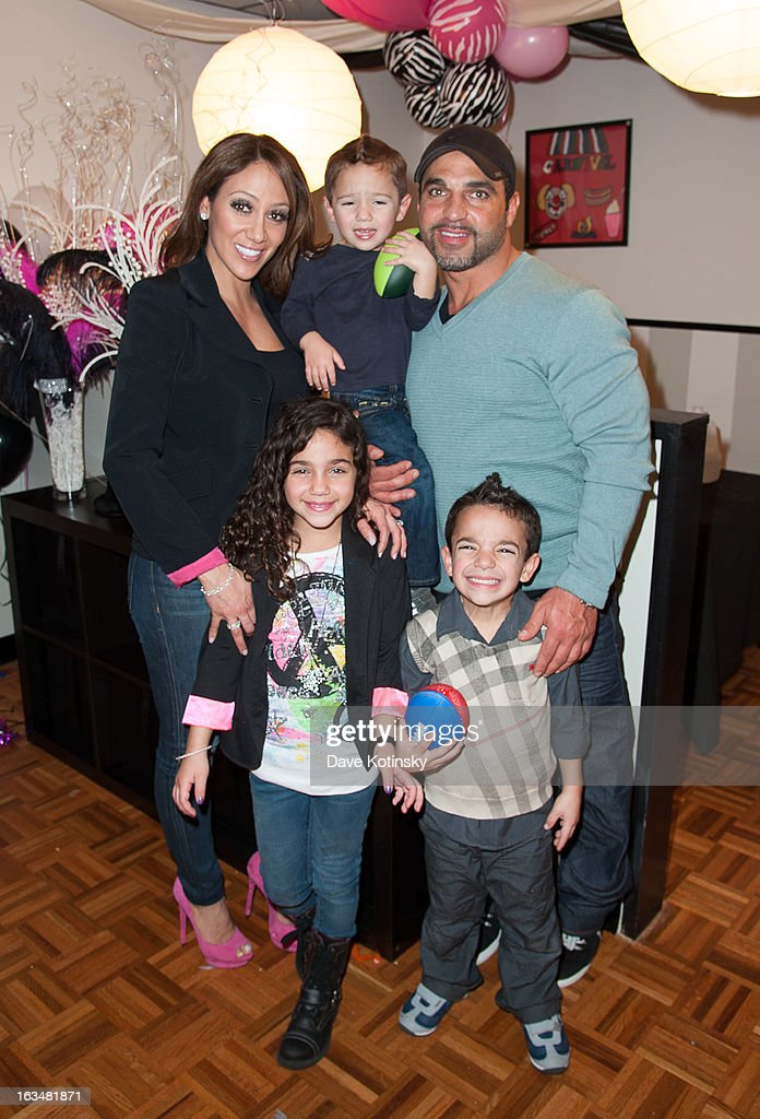 <a gi-track='captionPersonalityLinkClicked' href=/galleries/search?phrase=Melissa+Gorga&family=editorial&specificpeople=7306775 ng-click='$event.stopPropagation()'>Melissa Gorga</a>, Antonia Gorga, Gino Gorga, Joe Gorga and Joe Gorga Jr. attend Milania Giudice's 7th Birthday Celebration at Just Kidding on March 10, 2013 in Wayne, New Jersey.