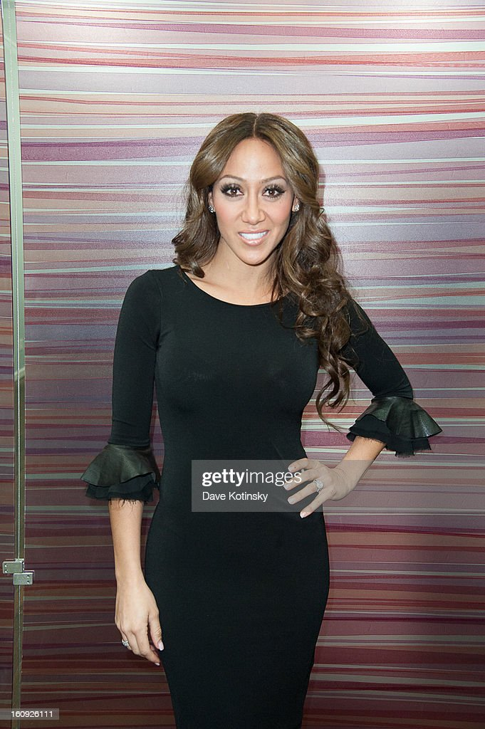 Melissa Gorga attends Lasio Studios Salon Grand Opening at Lasio Studios on February 7, 2013 in New York City.