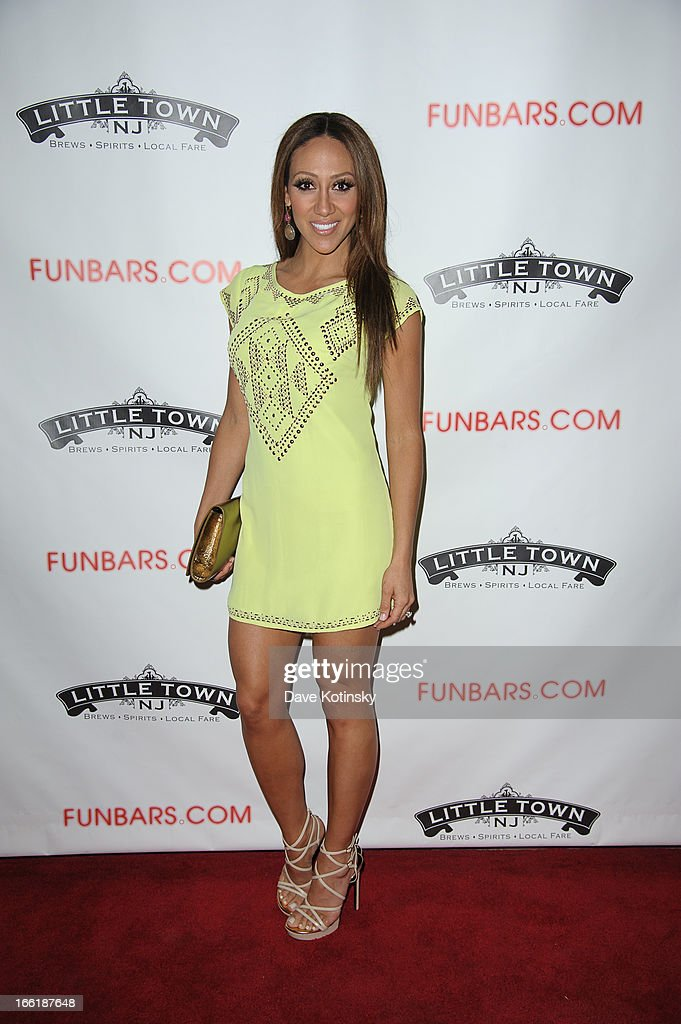 Melissa Gorga attends 'Little Town NJ' Restaurant Opening Hosted By The Manzo Brothers at Little Town NJ Restaurant on April 9, 2013 in Hoboken, New Jersey.