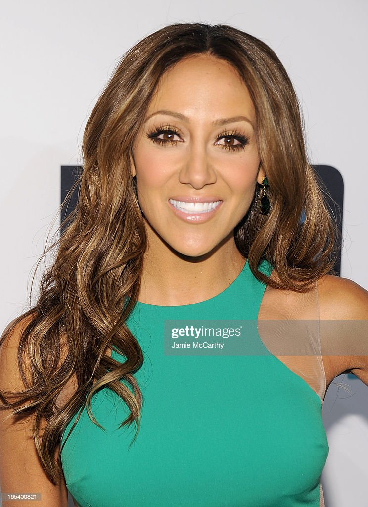 Melissa Gorga attends the 2013 Bravo New York Upfront at Pillars 37 Studios on April 3, 2013 in New York City.